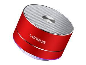 CORN Portable Wireless Bluetooth Speaker with Built-in-Mic,Handsfree Call,AUX Line,TF Card,HD Sound and Bass for iPhone Ipad Android Smartphone and More