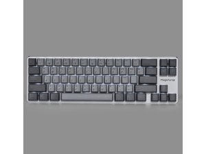 Magicforce Smart2 68 Keys N-key Rollover, USB Wired/Bluetooth V4.0 Dual Mode White Backlit, Mechanical Keyboard, Type-C Separated Cable, PBT Keycaps