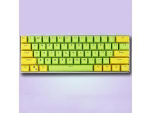 CORN 61 Key Layout OEM Profile PBT Thick Keycaps for 60% Mechanical Keyboard for RK61,GANSS ALT61,IKBC poker,Annie PRO,GH60,iqunix f60