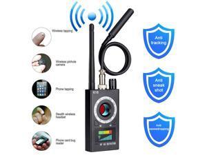 CORN K18 Anti Spy Detector, RF Detector & Camera Finder, Bug Detector, Upgraded RF Signal Detector,  GSM Tracking Device for Wireless Audio Bug Hidden Camera Detector