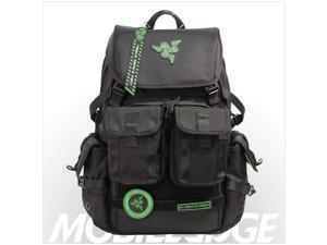 Tablet Pocket Water-Resistant Black Rugged Ballistic Material Padded Laptop Section RAZERBP15 Mobile Edge Razer Tactical 15 Inch Laptop Gaming Backpack