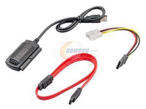 CORN SATA/IDE/PATA to USB 2.0 Adapter Converter Cable <Ships from USA> for 2.5/3.5 Hard Drive, Compatible with USB 1.1/2.0/3.0