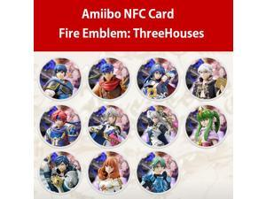 11PCS NFC TAG AMIIBO Cards for Fire Emblem: Three Houses Nintendo Switch NS Round Card ThreeHouses