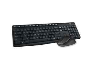 Logitech MK315 2.4 GHz Wireless Keyboard and Mouse Combo - Black