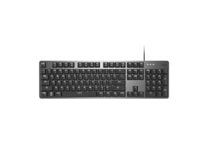 Logitech K845 Wired TTC Mechanical Gaming Keyboard, 104 Keys White Backlit And TTC Mechanical Switch For Windows/MAC/Android/IOS - Black