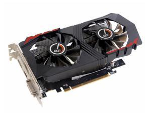 CORN AMD RX560 128-Bit 4GB GDDR5 Graphic Card support DirectX12 with dual fans Video Card GPU PCI Express 3.0 DP/DVI-D/HDMI,Play for LOL,DOTA,COD,War Thunder etc.