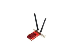 TX-8265AC 802.11AC 867Mbps Desktop PCi-e PCI Express Wi-Fi Adapter Bluetooth 4.2 2x2 11ac Dual Band 2.4GHz/5GHz MU-MIMO PCI Express Desktop Wireless Card Support Windows 7 Windows 8 Windows 10
