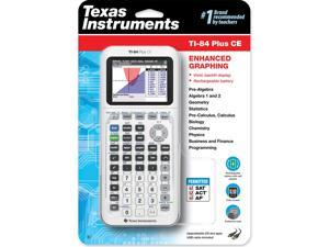 Texas Instruments TI-84 Plus CE Color Graphing Calculator, White