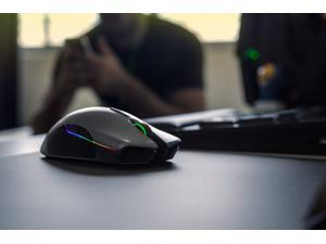 Razer Lancehead Wireless New Version (PAW3390 Chip)- Professional Grade Chroma Ambidextrous Wireless Gaming Mouse - 16000 dpi,450 IPS