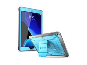 SUPCASE Designed for iPad 10.2 2019, iPad 7th Generation, [Unicorn Beetle Pro Series] with Built-in Screen Protector and Dual Layer Full Body Rugged Protective Case for iPad 10.2 Inch 2019 (Blue)
