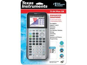 Texas Instruments TI-84 Plus CE Graphing Calculator, Gray