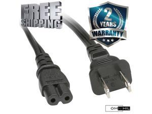 OMNIHIL AC Power Cord for Marshall ACTON CREAM & ACTON BLACK Speakers