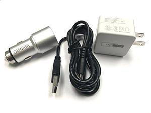 OMNIHIL Replacement W&C Charger w/(15FT) USB Cable for iClever Bluetooth Keyboard