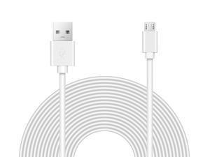 OMNIHIL Replacement (WHT-30FT) 2.0 High Speed USB Cable for iClever Bluetooth Keyboard