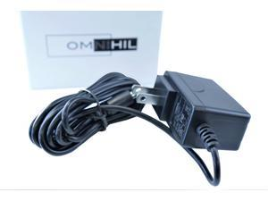 [UL Listed] Omnihil 8 Feet AC Power Cord Compatible with WD 6TB Elements Desktop Hard Drive - USB 3.0 - WDBWLG0060HBK-NESN