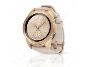 "Samsung Galaxy Watch SM-R810 Stainless Steel Smartwatch 42mm Case 1.2"" Super AMOLED Rose Gold"