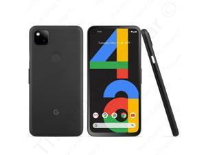 "Unlocked Google Pixel 4a GA02099US 5.8"" FHD+ OLED 12GB RAM 4G LTE GSM WiFi Black"