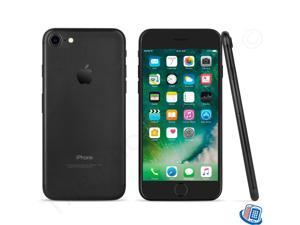 "Apple iPhone 7 4G LTE Unlocked GSM Quad-Core Phone w/ 12 MP Camera 4.7"" Black 32GB 2GB RAM"