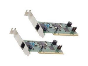 US Robotics USR2980-OEM V92 Low Profile PCI DataFax Modem - PCI - 1 x RJ-11 Phone Line - 56 Kbps WIN MAC LOW PROFILE