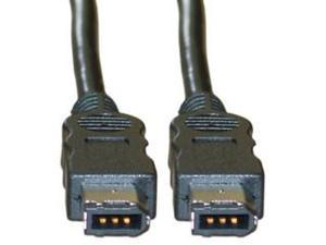 Firewire Cable, IEEE-1394, 6P / 6P, 6 ft