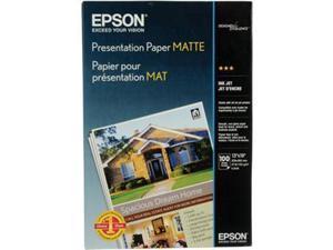 Epson Inkjet Print 100-Sheet 13x19 Matte Presentation Paper