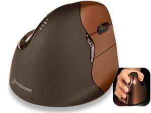 EVOLUENT VERTICAL MOUSE 4 SMALL WIRELESS RIGHT HANDED-THE ERGONOMIC PATENTED SHA