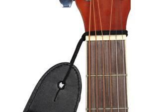 Nylon Braided Bass Belt, Adjustable Electric Guitar Strap 80-140cm Length Green