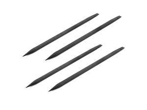 Global Bargains 4 Pcs Black Plastic Spudger Stick Pry Bar Opening Repair Tool Kits for Phone