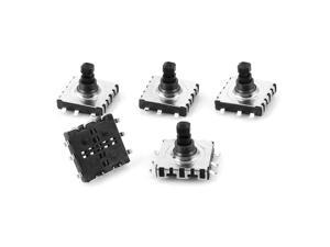 5pcs 10x10x9mm 6-Terminal 5 Way Momentary Pushbutton PCB SMD SMT Tactile Switch