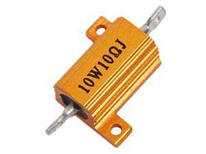 Unique Bargains 10W Power 5% 10 Ohm Resistance Value Aluminum Resistor