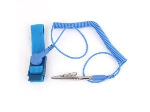 Blue Anti-static Antistatic ESD Ground Strap Wrist Band Grounding Bracelet