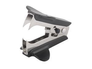 Unique BargainsPlastic Mini Portable Jaw Style Stapler Remover Black for Home Office School