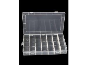 Unique Bargains Detachable 28 Compartments Electronic Component Storage Box Case Container