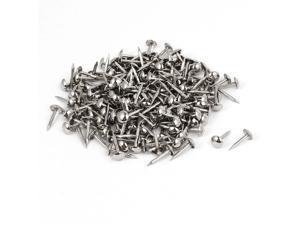 Home Furniture Upholstery Thumb Tack Nail Push Pin Silver Tone 6mm x 14mm 200pcs