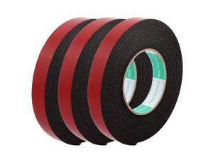 3pcs 20mm Width 2mm Thickness EVA Double Sided Sponge Foam Tape 5 Meters Length