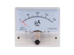 85C1-A Analog current panel meter Ammeter DC 1A for circuit test Ammeter Tester Gauge 1 PCS