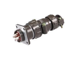 20mm 7P Y2M-7TK Waterproof Male Wire Panel Power Aviation Connector