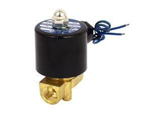 2W-10 DC 12V 3/8BSP Normal Close Water Gas Oil Electric Solenoid Valve