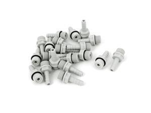 Unique Bargains New 20pcs Pipe Fitting Coupler Connector 1/4BSP Male Thread x 6mm Hose Barb
