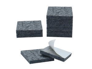 "Felt Furniture Pad Square 1 1/8"" Self Adhesive Anti-scratch Desk Protector 10pcs"