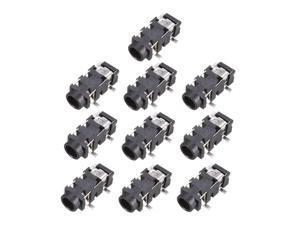 3.5 mm Audio Jack Connector PCB Mount Female Socket 5 Pin PJ-327A 10pcs
