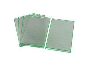 Unique Bargains 5 Pcs 12cm x 18cm Double Sided Protoboard Glass Fiber PCB Board