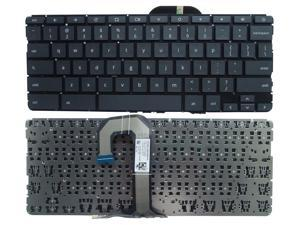 Replacement laptop Keyboard for  HP Chromebook 11 G6 EE Black US Laptop Notebook Keyboard L12695-001 NSK-XLOSO