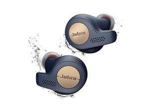 Jabra Elite Active 65t Alexa True Wireless Sport Earbuds with Charging Case Copper Blue IP56-rated work with Alexa, Siri, Google Assistant
