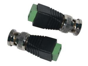 20pcs Coax CAT5 To Camera CCTV BNC Video Balun Connector