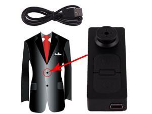New Cloth Button Pinhole Spy Camera Hidden DVR Concealed Camcorder Video Recorder HD