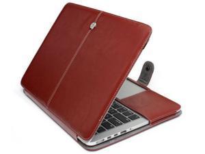 "Case for Apple Mac MacBook Air 13"" PU Leather Laptop Sleeve Bag"