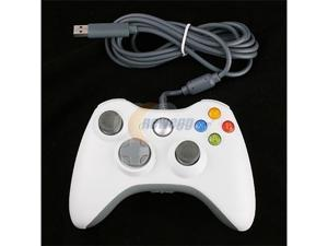 New USB Wired Controller for Microsoft Xbox 360 XBOX360 OEM White