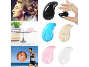 Mini S530 Smallest Wireless Invisible Bluetooth V4.0 In-ear Earphones Earbuds Headsets Headphones With Microphone Support Hands-free Calling