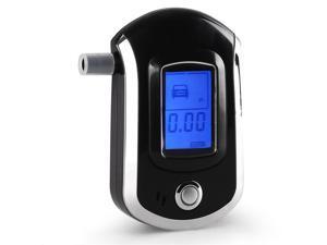 AT6000 Digital Breath Alcohol Tester Alcohol Meter Breathalyzer LCD Display
